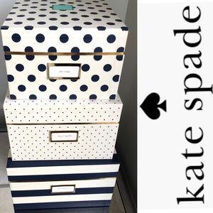 ♠️Kate Spade nesting Boxes